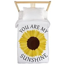 You Are My Sunshine Twin Duvet