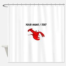 Custom Red Lobster Shower Curtain