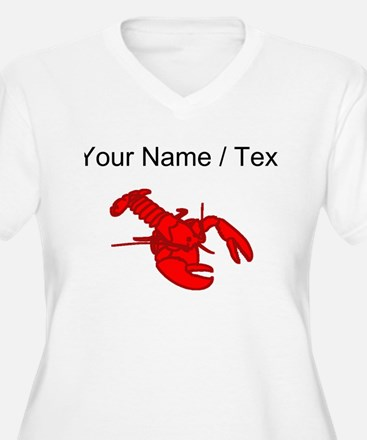 Custom Red Lobster Plus Size T-Shirt