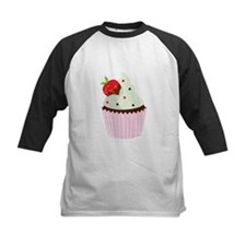 Strawberry Cupcake Baseball Jersey