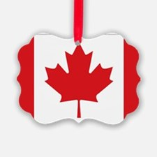 Canada National Flag Picture Ornament