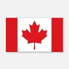 Canada National Flag Rectangle Car Magnet