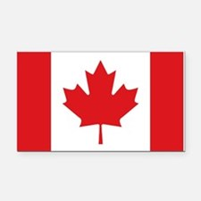 Canada National Flag Rectangle Car Magnet