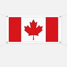 Canada National Flag Banner
