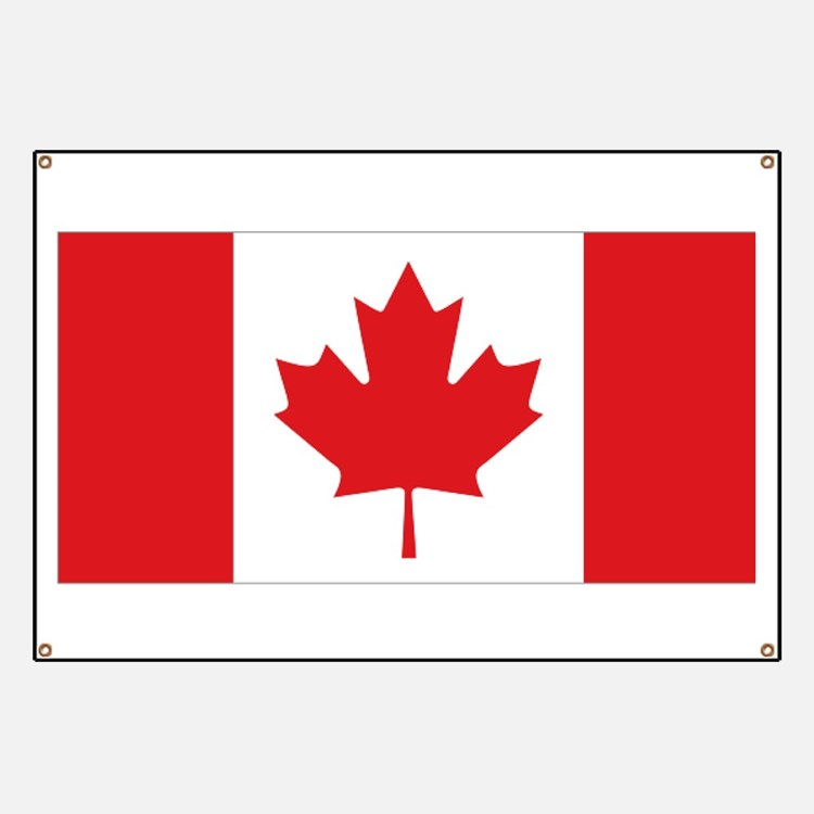 Canada National Flag Banner