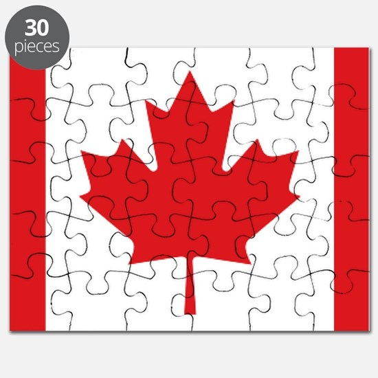 Canada National Flag Puzzle