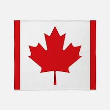 Canada National Flag Throw Blanket