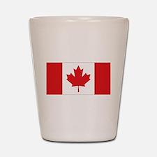 Canada National Flag Shot Glass