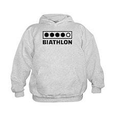 Biathlon target Hoodie