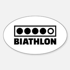 Biathlon target Decal