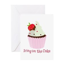 Icing On The Cake Greeting Cards