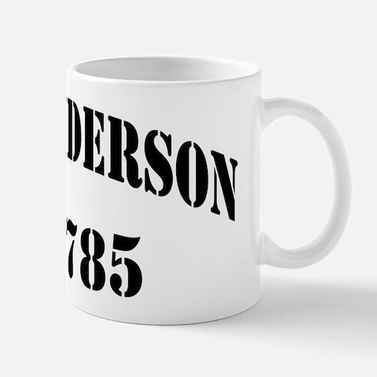 USS HENDERSON Mug