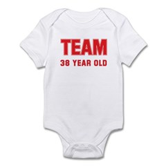 Team 38 YEAR OLD Infant Bodysuit