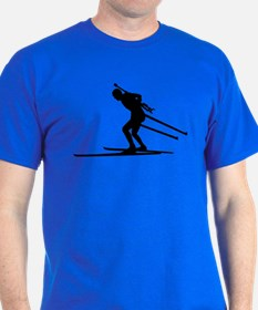 Biathlon skiing T-Shirt