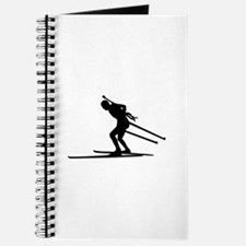 Biathlon skiing Journal