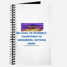BE LOYAL TO YOURSELF Journal