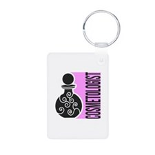 Cosmetologist Makeup Artis Keychains