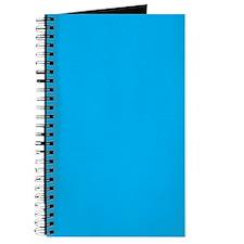 Azure Blue Solid Color Journal