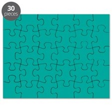 Turquoise Solid Color Puzzle