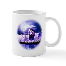 Contemplative Lion Mug