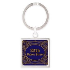 Cute Moriarty Square Keychain