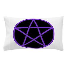 Purple/Black Pentagram Pillow Case