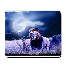 Contemplative Lion Mousepad