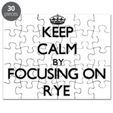 Keep Calm by focusing on Rye Puzzle