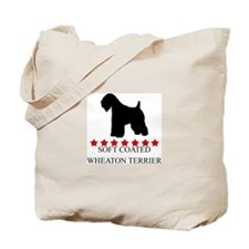 Soft Coated Wheaton Terrier ( Tote Bag
