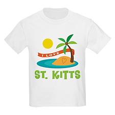 I Love St. Kitts T-Shirt