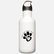 Paw Print Water Bottle