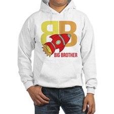 Rocket Ship Big Brother Hoodie