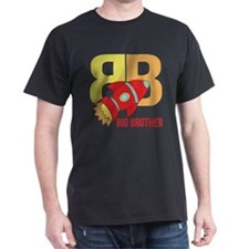 Rocket Ship Big Brother T-Shirt