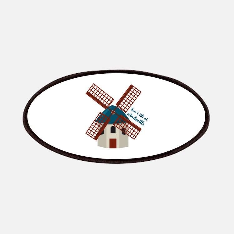 Tilt At Windmills Patches