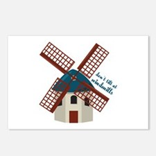 Tilt At Windmills Postcards (Package of 8)