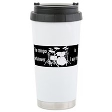 Unique Drumming Travel Mug