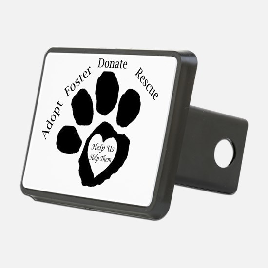 Paw print Hitch Cover