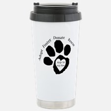 Paw print Travel Mug