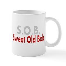 SOB Sweet Old Bob Mugs