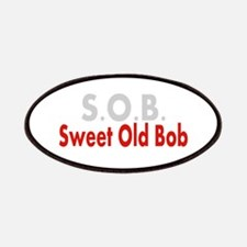 SOB Sweet Old Bob Patches