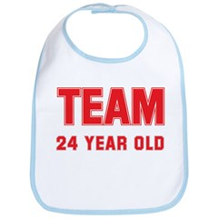 Team 24 YEAR OLD Bib