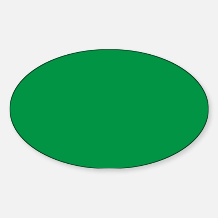 Shamrock Green Solid Color Decal
