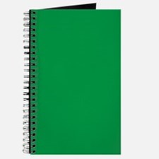 Shamrock Green Solid Color Journal