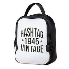 Hashtag 1945 Vintage Neoprene Lunch Bag