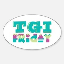 TGI Friday Decal