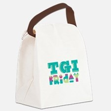 TGI Friday Canvas Lunch Bag