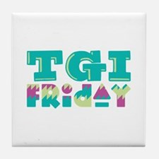 TGI Friday Tile Coaster