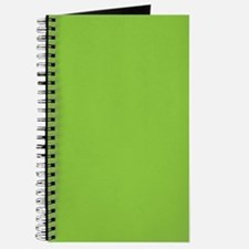 Spring Green Solid Color Journal