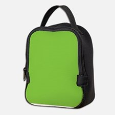 Spring Green Solid Color Neoprene Lunch Bag