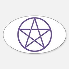 Purple Pentagram Decal